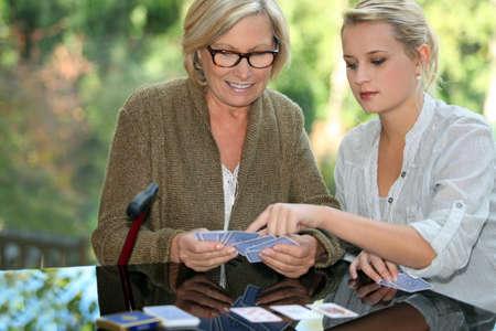 Card tricks Stock Photo - 14215008