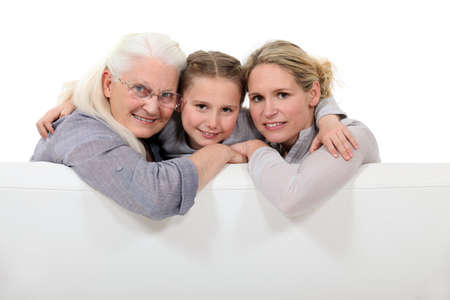 Three generations Stock Photo - 14213300