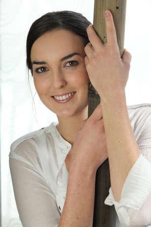 beautiful woman posing Stock Photo - 14214056