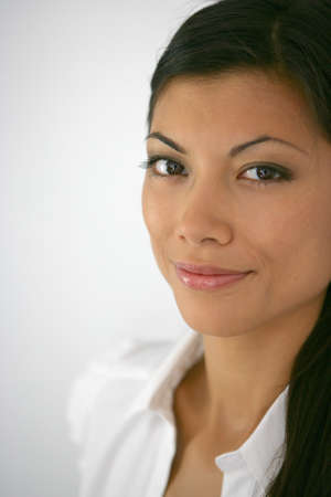 Portrait of a hispanic woman photo