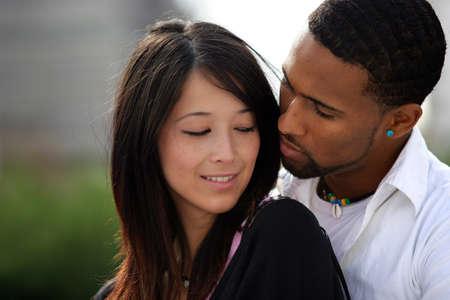 pareja de adolescentes: Pareja de adolescentes