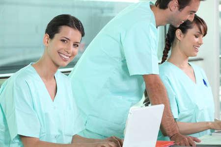 Nurses at work photo