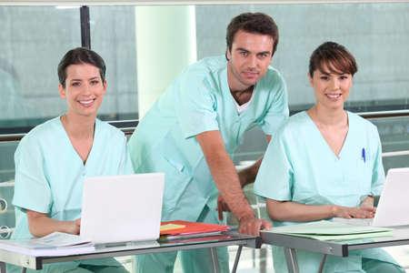 hospital team photo