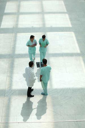 hospital hall photo