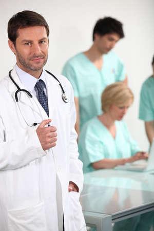 Doctor and nurses Stock Photo - 14206782