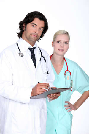 doctor member staff Stock Photo - 14206609
