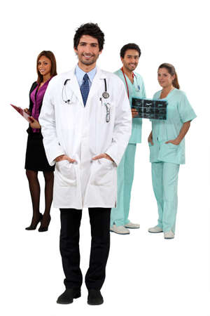 Hospital employees Stock Photo - 14205043