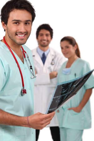 Doctors and nurses photo