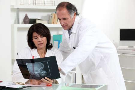 interpret: Medical x-ray Stock Photo