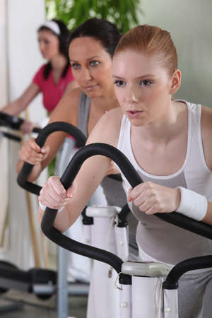 regulating: Women at the gym