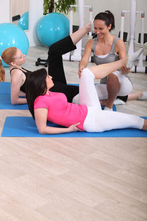 slipper: Women doing gymnastics