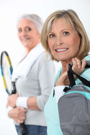 Mother and daughter going to the gym together Stock Photo - 14210246