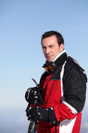 Portrait of Skier photo