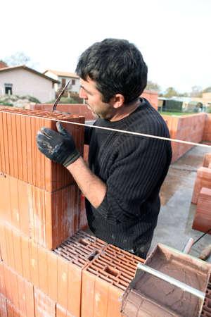 Housebuilder at work photo
