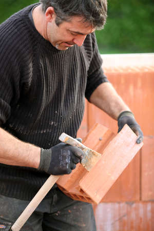skilled labour: Bricklayer