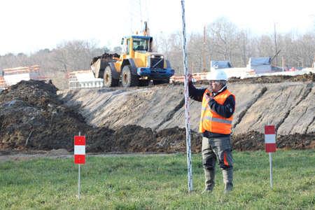 ingeniero civil: Construcción de carreteras