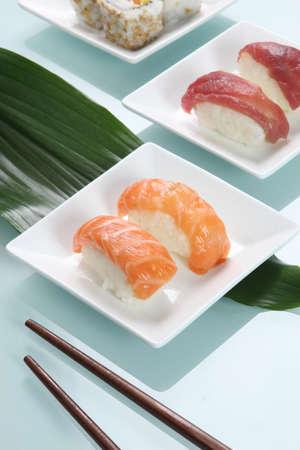 tuna fillet: Sushi