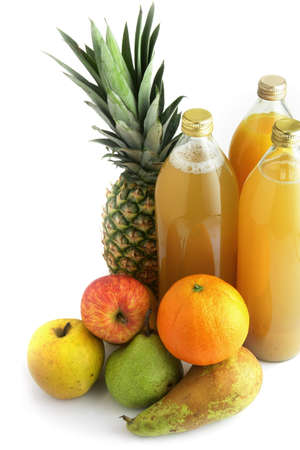 Selection of fruit juices Stock Photo - 15118310