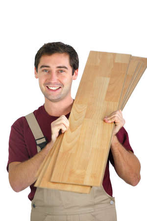 Can carrying laminate flooring photo