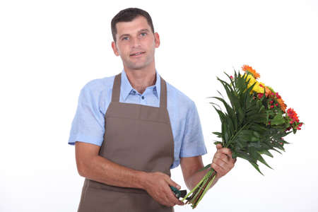 florist shop: portrait of a florist