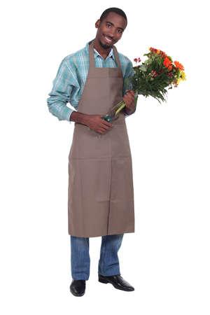 florist: Male florist