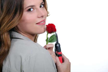 incarnate: Women cut flower