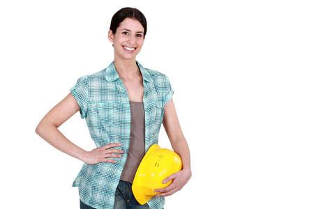 Manual female worker  Stock Photo - 15095570