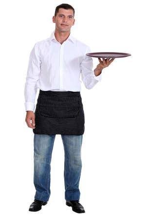 barman: A waiter.