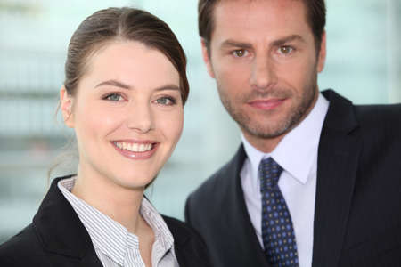 male and female colleagues Stock Photo - 15119515
