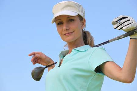 golf cap: Golfer
