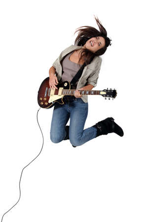 rock singer Stock Photo - 15228703