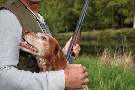 hunting dog: You