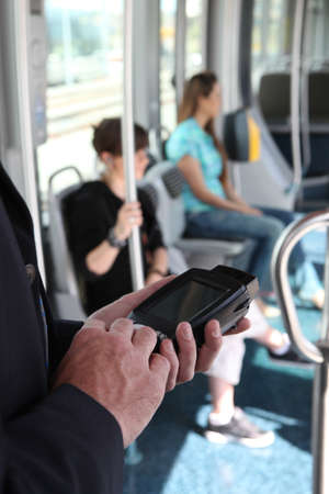 Control of public transport Stock Photo - 15224354
