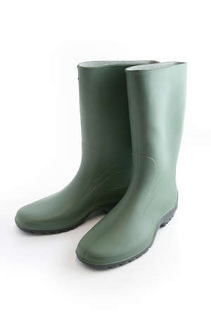 welly: Pair of wellington boots Stock Photo