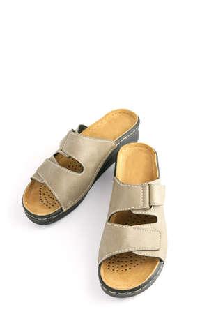 orthopaedic: Beige sandals