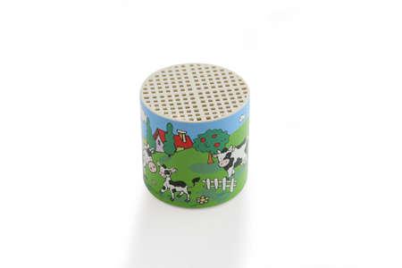 comedic: Animal noise toy Stock Photo