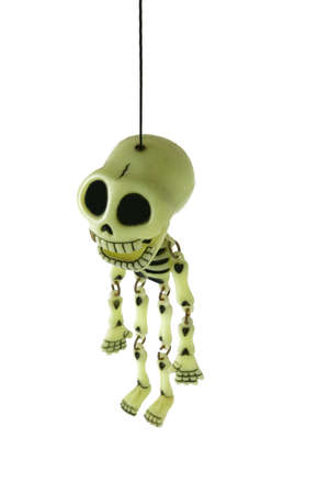 loony: Toy skeleton Stock Photo