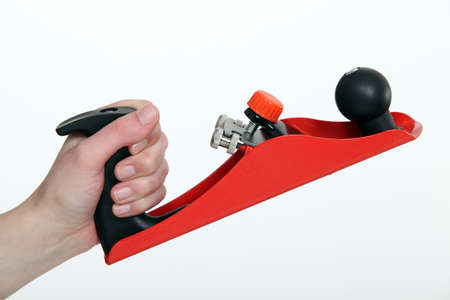 Close-up shot of a hand-held plane Stock Photo - 15224215
