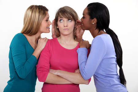 Friends gossiping Stock Photo - 15224409