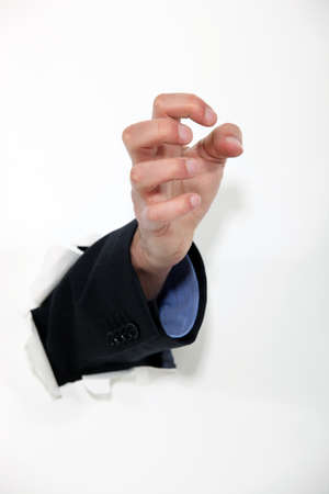 hand trying to catch something Stock Photo - 15496468