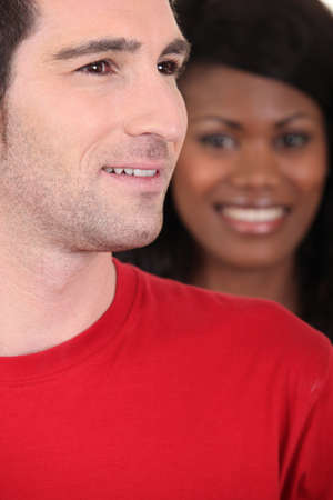 interpersonal: Smiling couple
