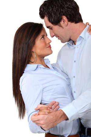 Embracing couple Stock Photo - 15230904