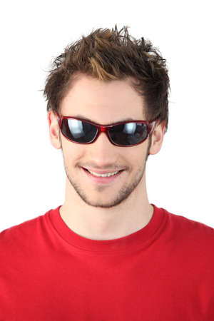 cool dude: Cool dude in sunglasses