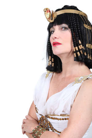 Woman in Cleopatra costume Stock Photo - 15233395