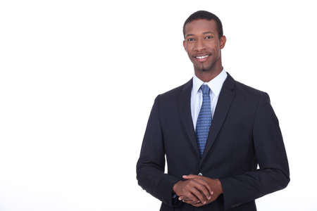 charismatic: Portrait of a businessman