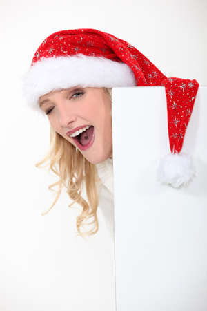 Mrs  Santa got a tongue piercing  photo