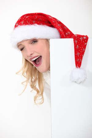 mrs santa: Mrs  Santa got a tongue piercing
