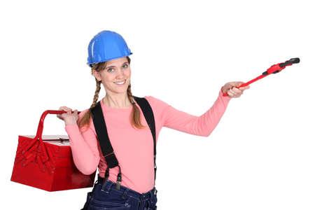 servicewoman: A handywoman
