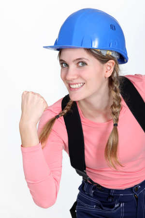 spunk: A motivated tradeswoman