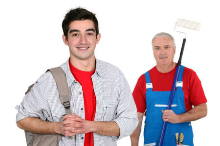 scaling ladder: Decorator and his apprentice